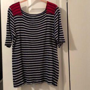 Croft & Barrow striped shirt in XL